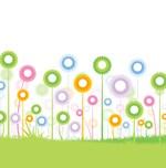 Pretty Spring Flowers Shower Curtain & Decor
