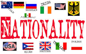 Nationality Pride