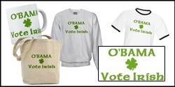 O'Bama Vote Irish