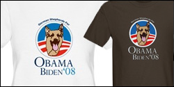 German Shepherds for Obama