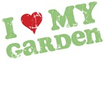 Retro I Love My Garden T-Shirts & Gifts