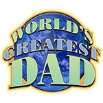 World's Greatest Dad Father's Day T-Shirts & Gifts