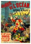 Les Rois De L'Ocean Rare Vintage Print