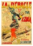 La Debacle Rare Vintage Play Advertising Print