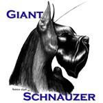 Giant Schnauzer head