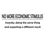 No More Economic Stimulus
