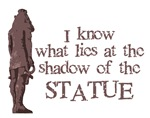 Lost: The shadow of the statue