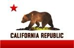 California Flag Bear T-shirts & Gift Ideas