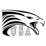 U.S.A. Eagle b/w