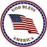 God Bless America - Flag