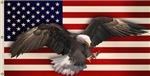 American Flag w/Eagle T-shirts & Gift Ideas