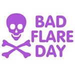 Bad Flare Day Skull and Crossbones