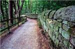 A Path Near The Stone Wall