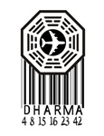 Dharma Initiative Barcode w/ numbers
