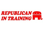 REPUBLICAN IN TRAINING BABY CLOTHES BIB ONSIE AND