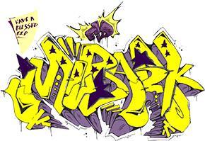 Eid Mubarak (Have A Blessed Eid) Graffiti Style