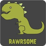 Rawrsome T shirts