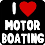 I Love Motor Boating T shirt