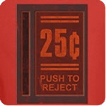 25¢ Push to Reject T-Shirt
