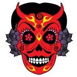 La Diablita devil skull