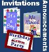 Announcements & Invitations