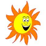 Smiling Hot Sun