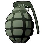 Cartoon Grenade
