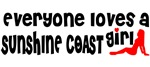 Everybody loves a Sunshine Coast girl