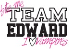 TEAM EDWARD T-SHIRTS & VAMPIRE GEAR