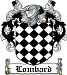 Lombard Coat of Arms, Family Crest