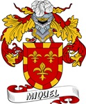 Miquel Coat of Arms, Family Crest