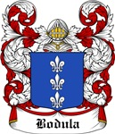 Bodula Coat of Arms, Family Crest