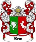 Bem Coat of Arms, Family Crest
