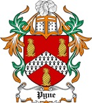Pyne Coat of Arms, Family Crest