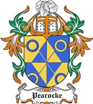 Peacocke Coat of Arms, Family Crest