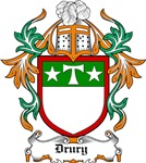 Drury Coat of Arms, Family Crest