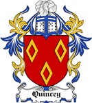 Quincey Coat of Arms, Family Crest