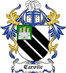 Carvile Coat of Arms, Family Crest