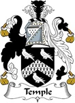 Temple Family Crest