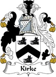 Kirke Family Crest