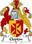 Clopton Family Crest