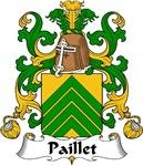 Paillet Family Crest