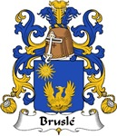 Brusle Family Crest