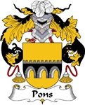 Pons Family Crest