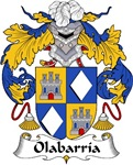 Olabarria Family Crest