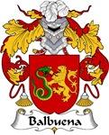 Balbuena Family Crest