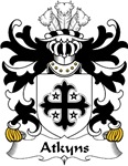Atkyns Family Crest