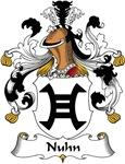 Nuhn Family Crest