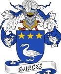 Garces Family Crest / Garces Coat of Arms