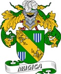 Mugica Family Crest / Mugica Coat of Arms